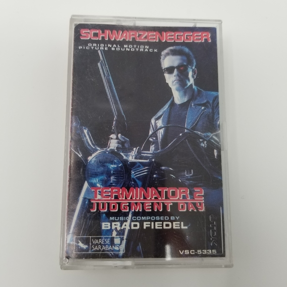Collectable Terminator 2 Soundtrack Cassette Tape